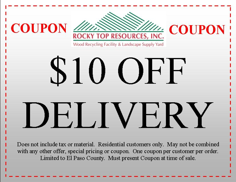 Delivery Coupon